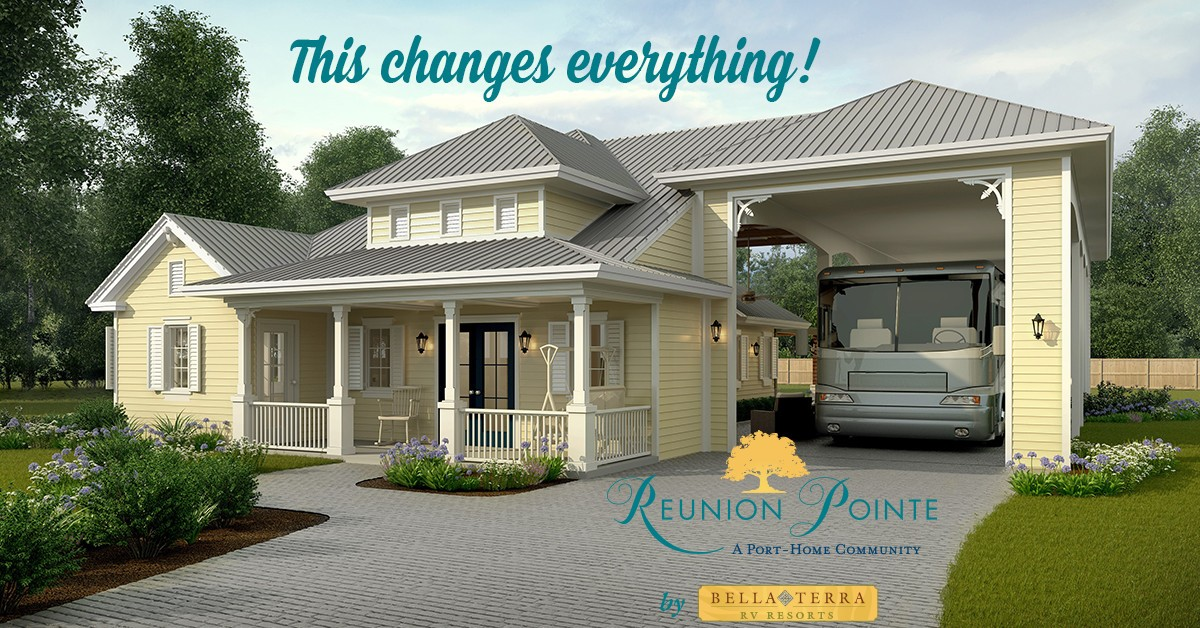 Reunion Pointe RV Port Home Community by Bella Terra on the Gulf Coast